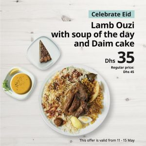 Ikea restaurant eid offer